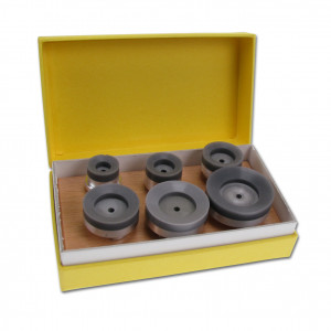 Suction cup set (top) for case opener with hand wheel Bergeon