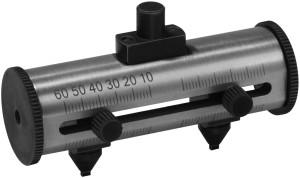 Schraubstock für Gehäuse-Ø bis 60 mm für Gehäuseöffner mit Handrad Bergeon