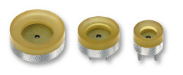 Suction cup set (bottom) for case opener with hand wheel Bergeon