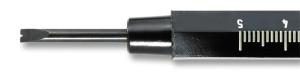 Insert (scoop) for spring bar tool 4229001 Bergeon