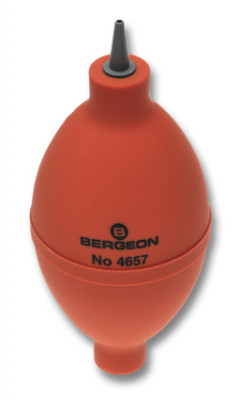 Dust blower, olive shape, Bergeon