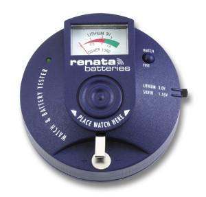 Batterie-Prüfgerät/ Batterietester Renata