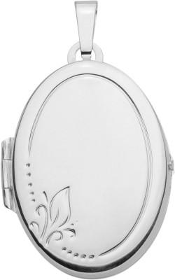 Medaillon Silber 925/- oval