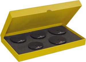 """Assortiment de 5 tasseaux """"XL"""" en POM, filetage M6, épaisseur 18 mm"""