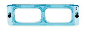 Lenses for head magnifier 2.5x OptiVISOR