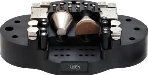 Spann-und Haltewerkzeugset für GRS-Gravierkugeln