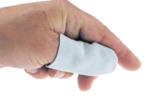 Fingerlinge aus Leder Größe 2
