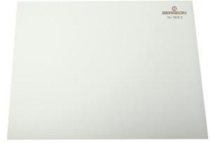 Sous-mains antidérapant blanc, 320 x 240 x 2 mm, en paquet 10 pièces