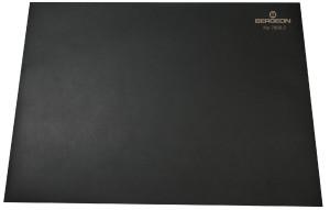 Worktop, black, slip-resistant Bergeon