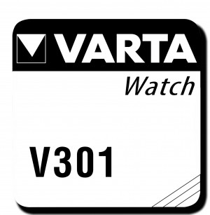 Varta 301 button cell