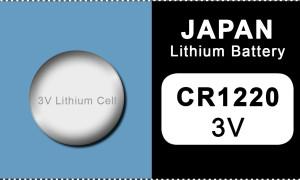 Japan 1220 Lithium Knopfzelle