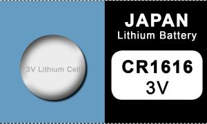 Japan 1616 Lithium Knopfzelle