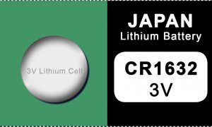 Japan 1632 lithium button cell