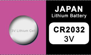 Japan 2032 Lithium Knopfzelle