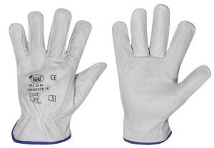 Nappaleder-Handschuhe Strong Hand SILVERSTONE, Größe 12