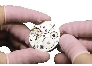 Fingerlinge Latex rosa antistatisch ungepudert Gr. S Bergeon
