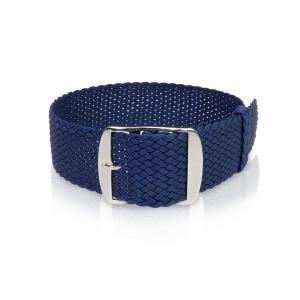 Perlon-Bänder Navy-blue