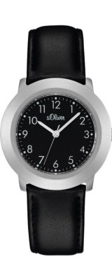 s.Oliver bracelet-montre noir SO-022-LQ