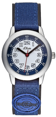 s.Oliver PU /Nylon Band blau SO-1823-LQ