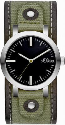 s.Oliver textile/canvas olive green SO-1626-LQ