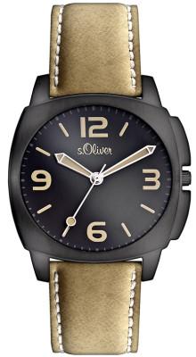 s.Oliver bracelet PU-/ cuir brun clair SO-2509-LQ