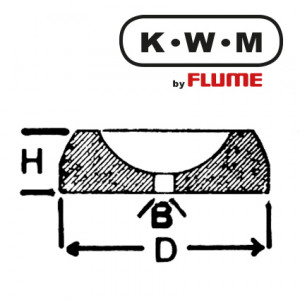KWM-press-fit bearings brass KL233, hole Ø 0.20 outside Ø 2.00 height 0.70 mm, capacity 10.00 Unit