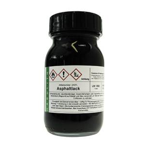 Asphaltlack, 25ml
