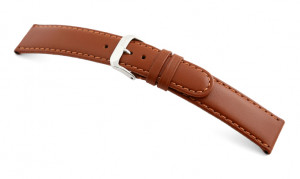 Leather strap Phoenix 10mm cognac smooth