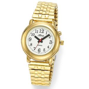 Atlanta 8915/9 gelb sprechende Armbanduhr