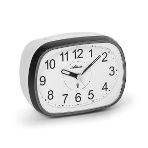 Atlanta 1793/4 anthracite/creme Radio controlled alarm clock with bell signal
