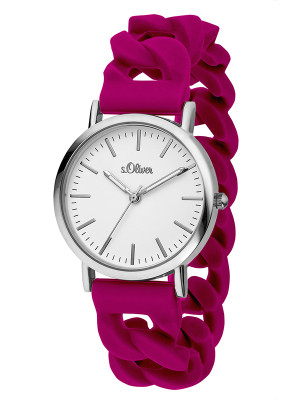 s.Oliver silicone band berry SO-3260-PQ