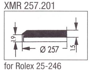 Glass XMR 257.201 Mineral