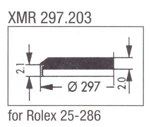 Glass XMR 297.203 Mineral