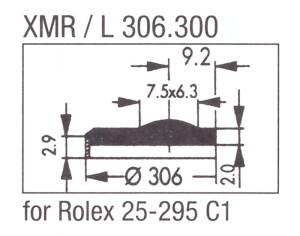 Glass XMR/L 306.300 Mineral