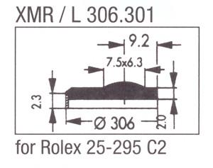 Glass XMR/L 306.301 Mineral