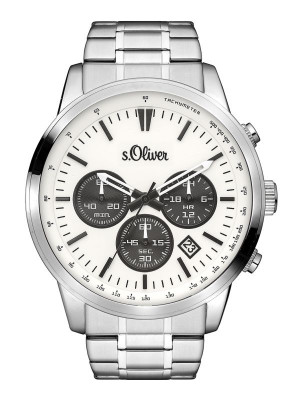 s.Oliver Metallband silber SO-3334-MQ