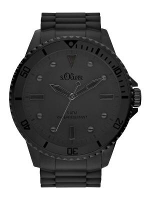 s.Oliver Silikonband schwarz SO-3413-PQ