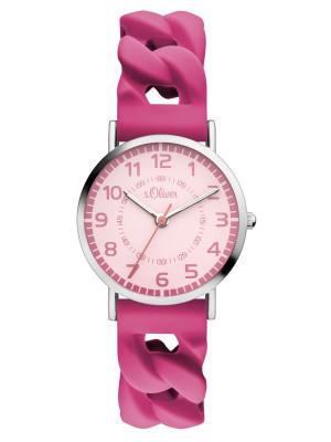 s.Oliver Silikonband pink SO-3429-PQ