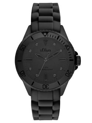 s.Oliver Silikonband schwarz SO-3415-PQ