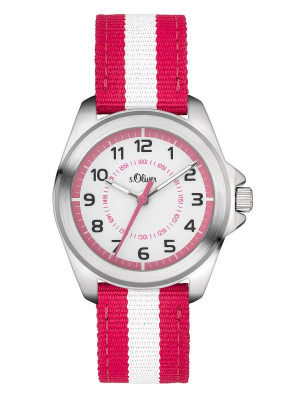 s.Oliver Canvas pink weiss SO-3402-LQ