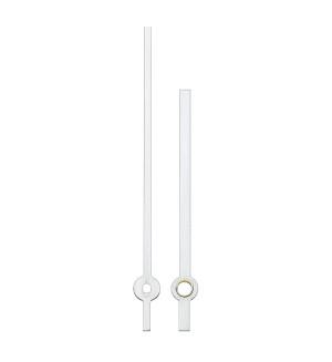 Paire des aiguilles Eurocode sapine blanc Long.:65mm