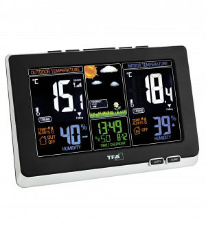 "TFA Radio-Controlled Weather Station ""Spring"""