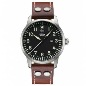 LACO Quartz pilot watch Genf