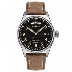 JUNKERS Automatic Watch Iron Anni Cockpit