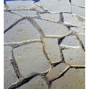 Bruchstein-Bodenplatten