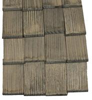 Bareaux en bois pour la construction d'une crèche
