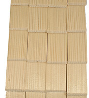 Wooden Shingles for Model Crèches