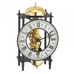 """HERMLE Skeleton Mantel and Wall Clock """"Fribourg"""""""