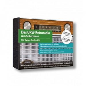 Kit de construction radio-FM. Style rétro.