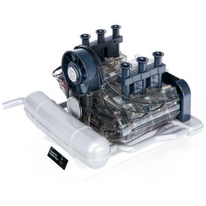 Classique modèle moteur Posche 911 à l'échelle 1 :